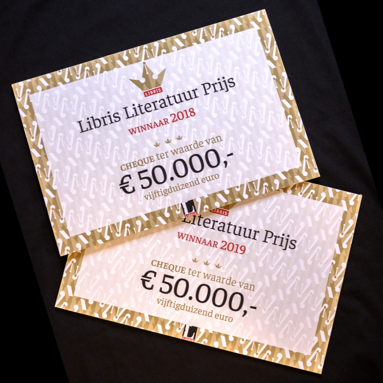 Cheques geprint